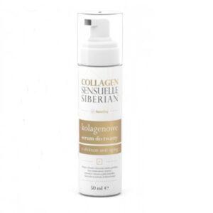 Collagen Sensuelle Siberian o działaniu anti-aging zawiera składniki pochodzenia naturalnego, które poprawiają owal twarzy.